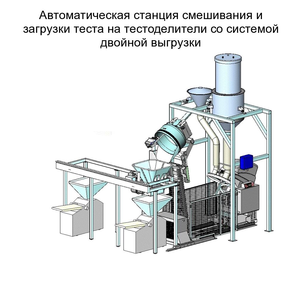 Корпус тестомеса выполнен из стальной конструкции.  Опора, дежа, тестомесильный орган...